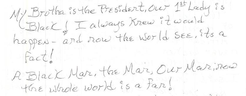 My Brotha is President (originally written 1/20/08)