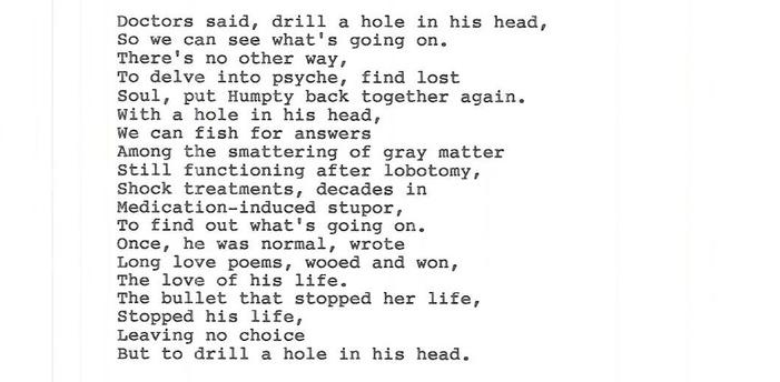 A Hole in his Head