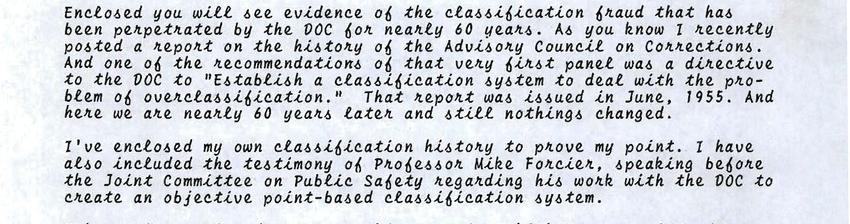 The Classification fraud