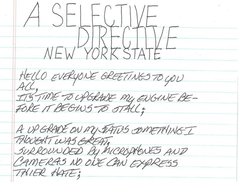 A Selective Directive New York state