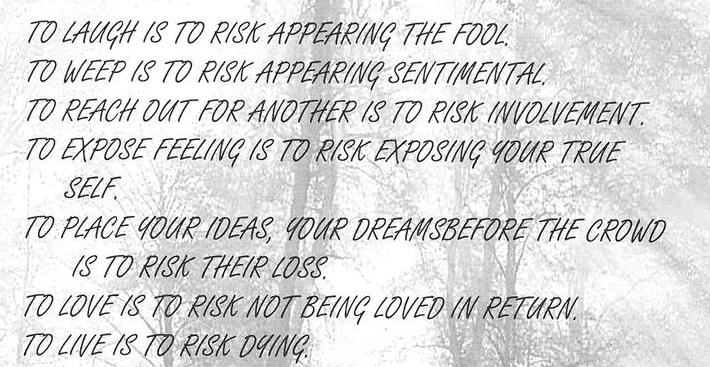 Risk Taking Is Free