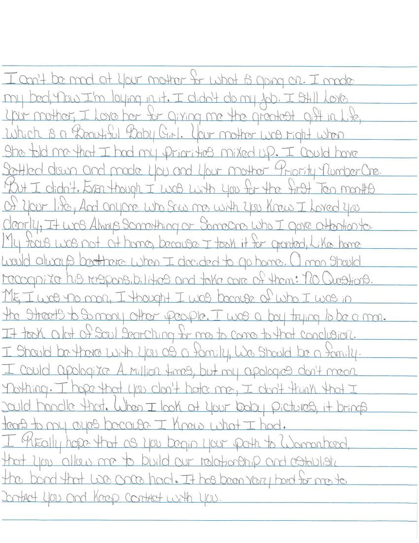 Between the bars letter to my daughter 02 06 2012 quashon huskey scanned page thecheapjerseys Choice Image