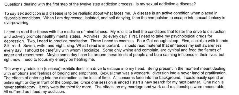 Is My Sexual Addiction A Disease?