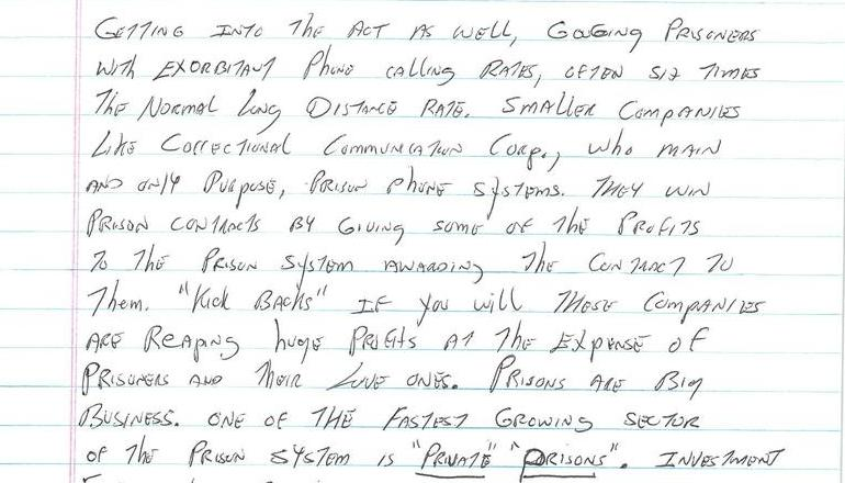 Prison - A Place to do Business and Get Rich