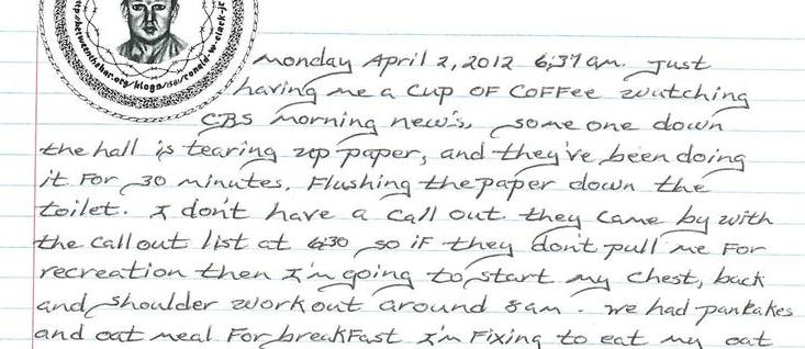 Daily Journal 4/2/12 To 4/5/12