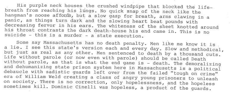 The Execution of Scott Rose