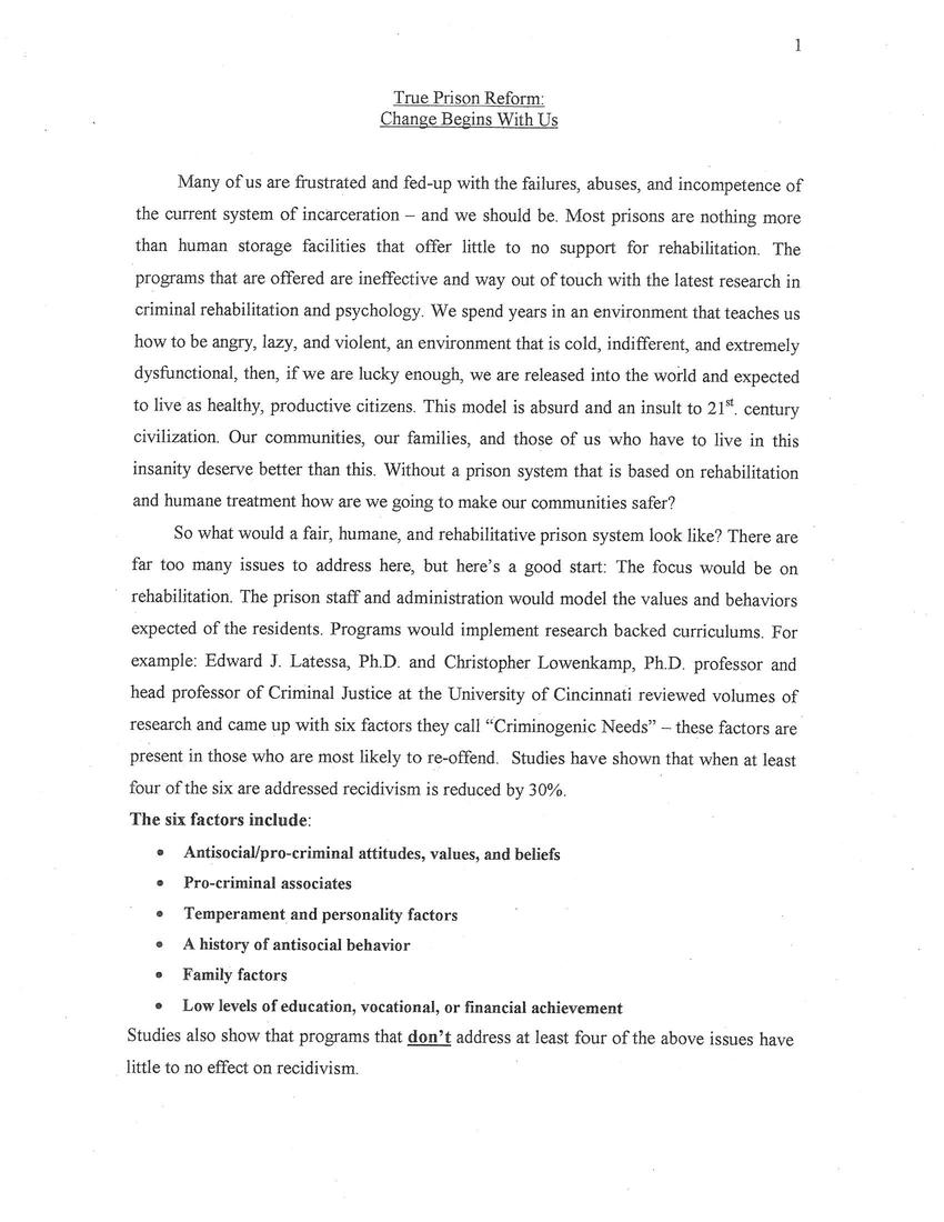 self description essay description of yourself essay description  prison essay what are your thoughts on this purpose of prison prison essayprison reform essay dratiniz