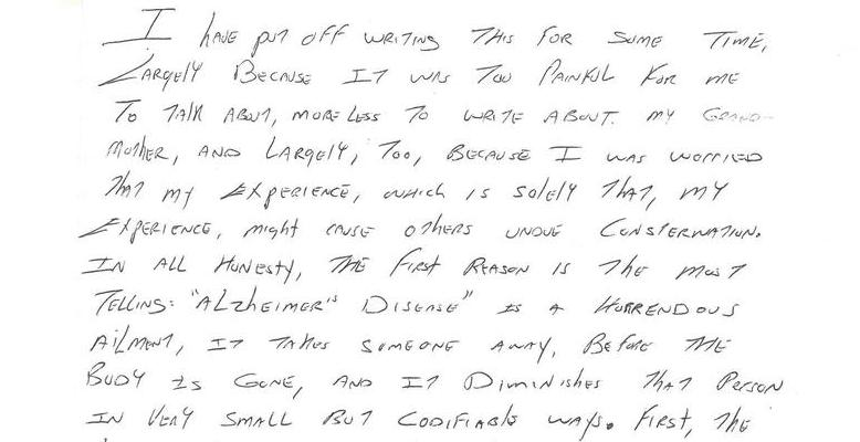 The Vanishing Mind - Part I