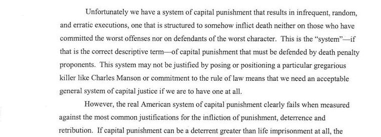 The Failures Of Capital Punishment
