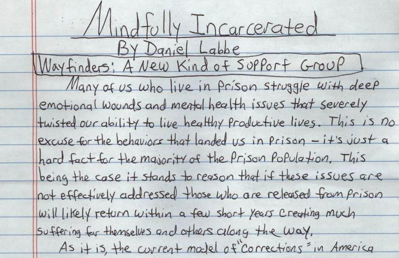 Mindfully Incarcerated