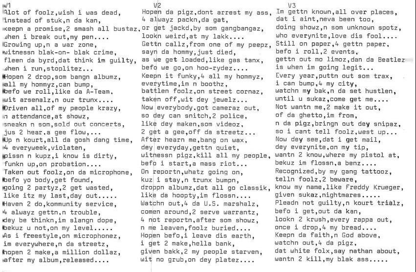 Song: Keep Da Faith
