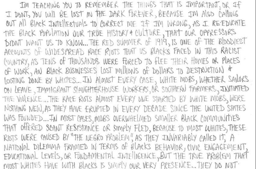 Redemption, Ltr 111: The Red Summer of 1919