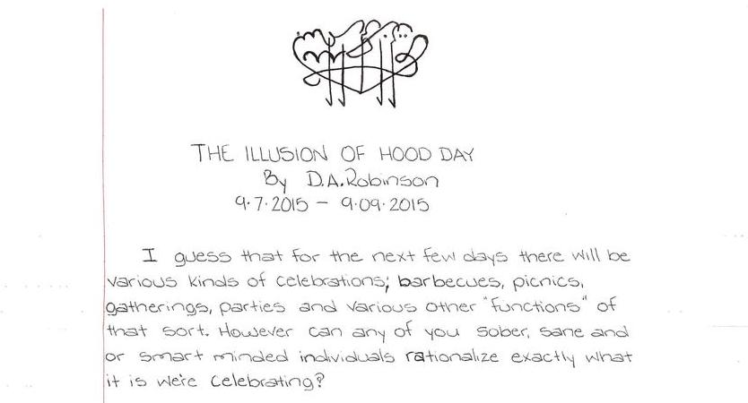 The Illusion of Hood Day