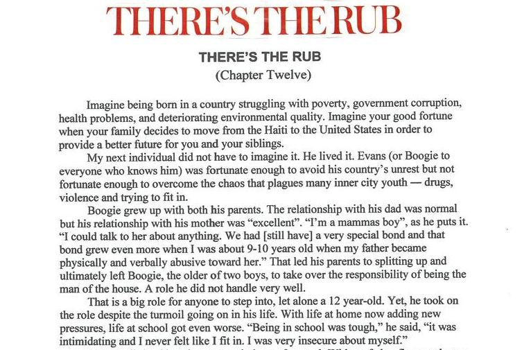 There's the Rub (Chapter Twelve)