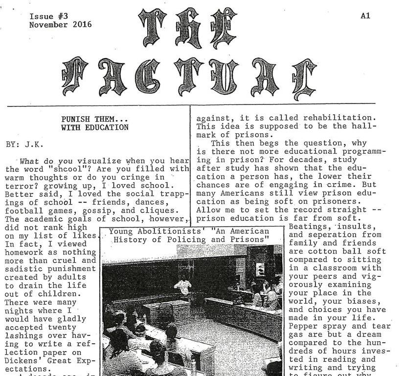 The Factual, Issue #3, November 2016
