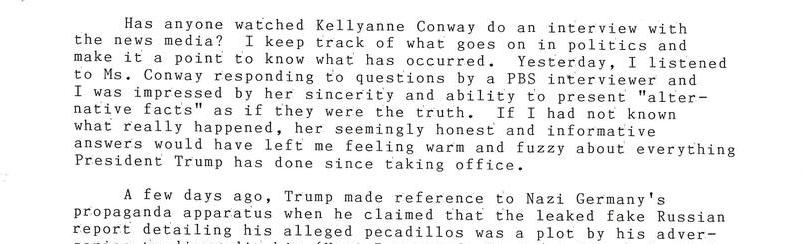 The Best Liar Ever: Kellyanne Conway