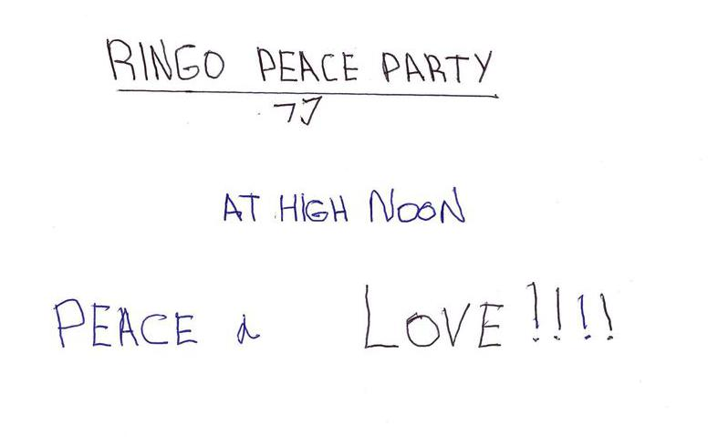 Ringo Peace Party