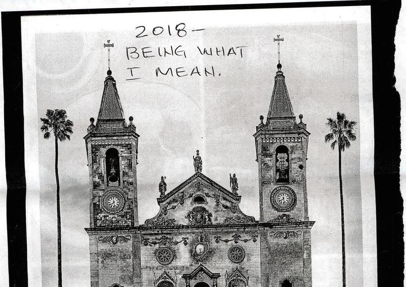 2018 - Being What I Mean