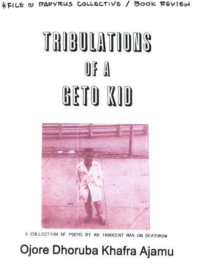 Tribulations of a Geto Kid
