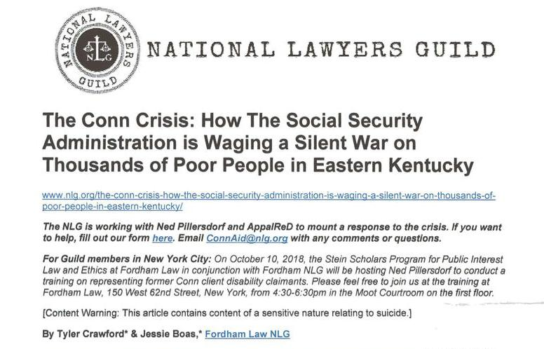 How the Social Security Administration is Waging a Silent War on Thousands of Poor People in Eastern Kentucky