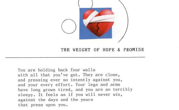 The Weight of Hope & Promise