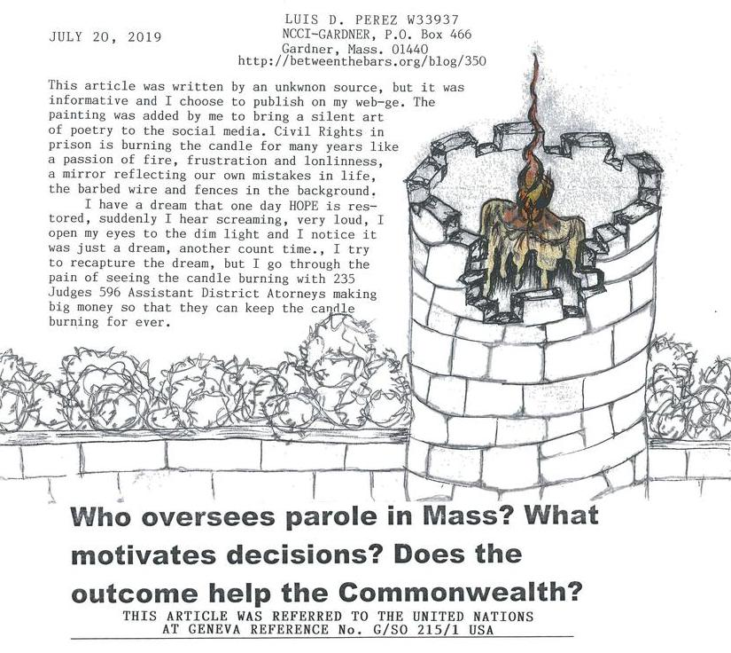 Who oversees parole in Mass?