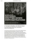 National Shut'em Down Demonstration
